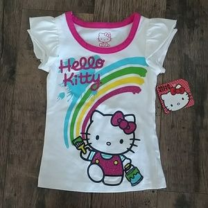 NWT Hello Kitty t-shirt, size 2T